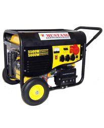 Бензиновый генератор Mustang CPG6000E2T